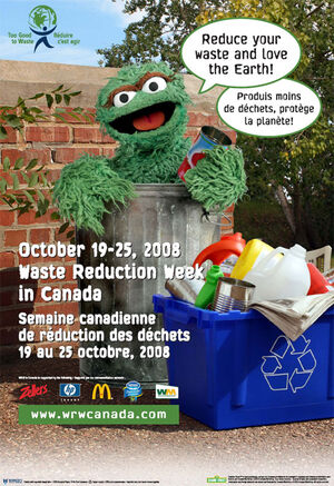 Waste reduction poster