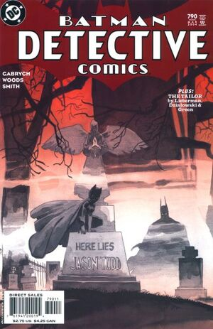 Cover for Detective Comics #790