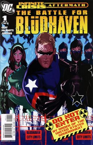 Cover for Battle for Blüdhaven #1