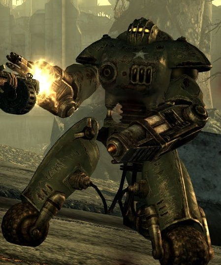 fallout 3 alien robots video automobile