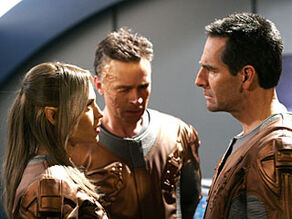 Archer, TPol, Tucker, discuss the Defiant