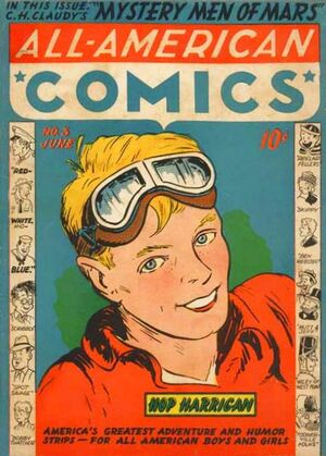 Cover for All-American Comics #3