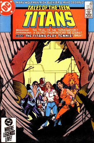 Cover for Tales of the Teen Titans #53