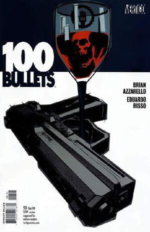 Cover for 100 Bullets #93