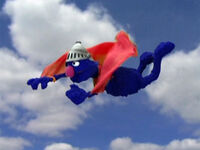 Supergrover-flying