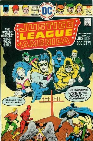 Cover for Justice League of America #124
