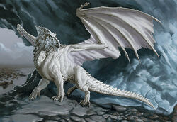 4e white dragon