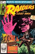 Marvel Movie Spotlight Featuring Raiders of the Lost Ark Vol 1 1