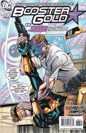 Cover for Booster Gold #13