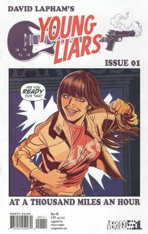 Cover for Young Liars #1