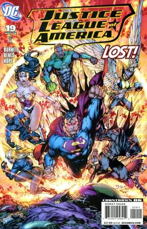Cover for Justice League of America #19