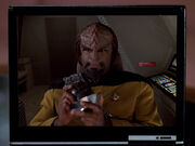 Worf, personal log playback