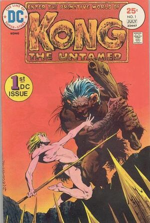 Cover for Kong the Untamed #1