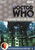 Resurrection of the daleks netherlands dvd
