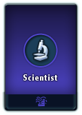 Scientist card
