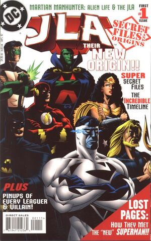 Cover for JLA Secret Files and Origins #1