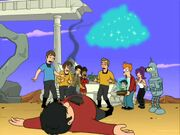 Futurama, Where No Fan Has Gone Before, Welshie dead