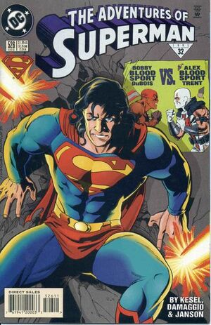 Cover for Adventures of Superman #526