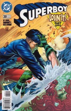 Cover for Superboy #30