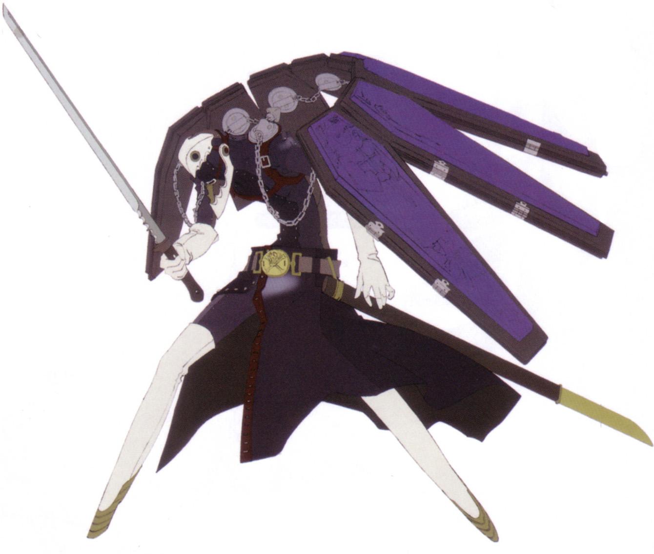 Shin Megami Tensei : Persona 3 (Cutscene 3 - Orpheus) 20090404020309!Thanatos-Concept