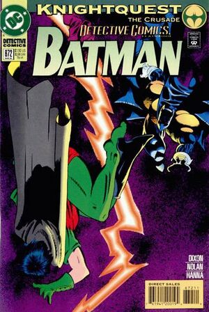 Cover for Detective Comics #672