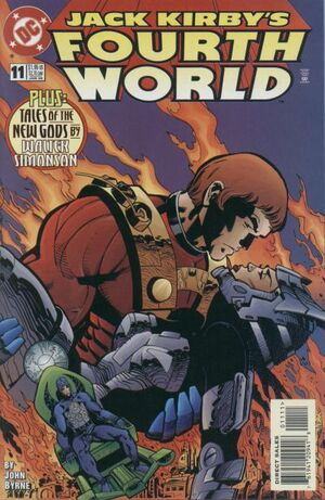 Cover for Jack Kirby's Fourth World #11