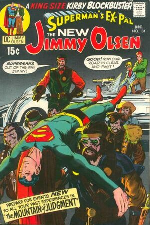 Cover for Superman's Pal, Jimmy Olsen #134