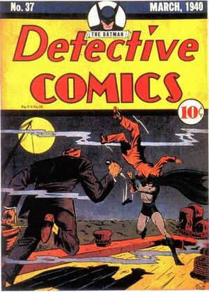 Cover for Detective Comics #37