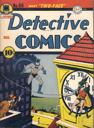 Cover for Detective Comics #66