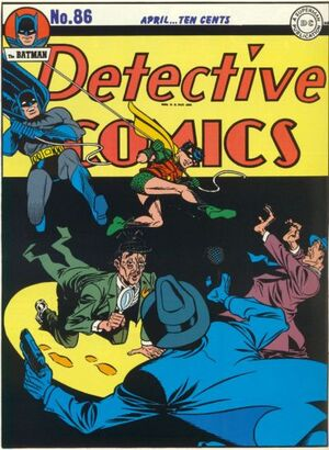 Cover for Detective Comics #86