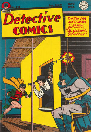 Cover for Detective Comics #117