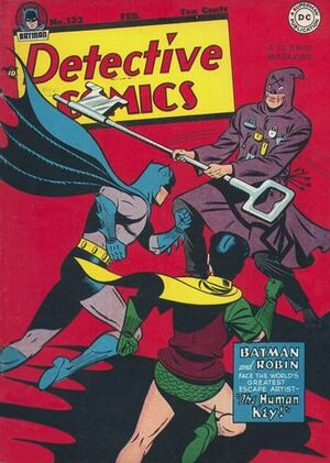 Cover for Detective Comics #132