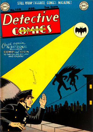 Cover for Detective Comics #150