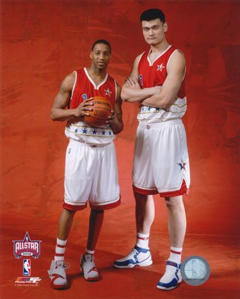 Yao Ming Calves