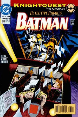 Cover for Detective Comics #669