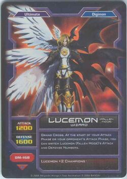 Lucemon (Fallen Mode) DM-168 (DC)
