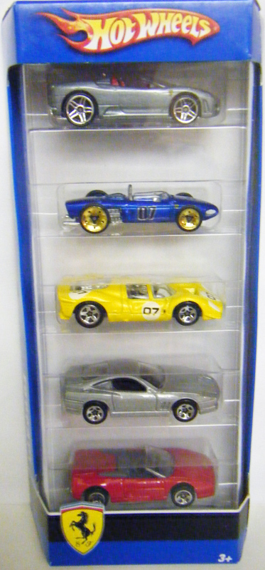 Ferrari 5 Pack 2007 Hot Wheels Wiki