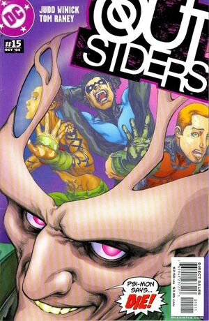 Cover for Outsiders #15