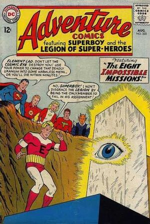 Cover for Adventure Comics #323