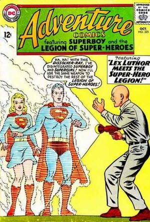 Cover for Adventure Comics #325
