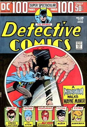 Cover for Detective Comics #438
