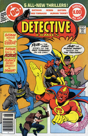 Cover for Detective Comics #493