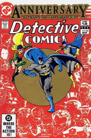 Cover for Detective Comics #526