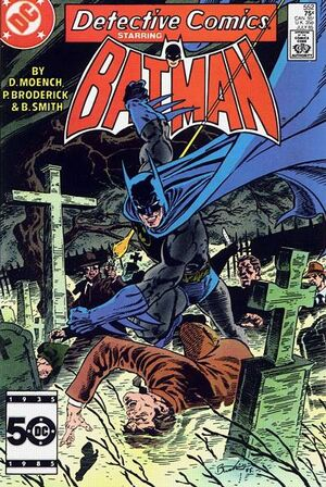 Cover for Detective Comics #552