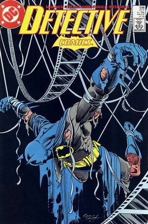 Cover for Detective Comics #596