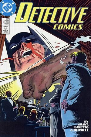 Cover for Detective Comics #597