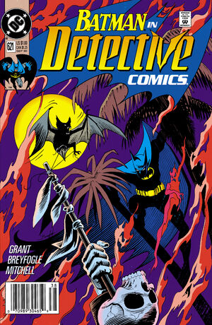 Cover for Detective Comics #621