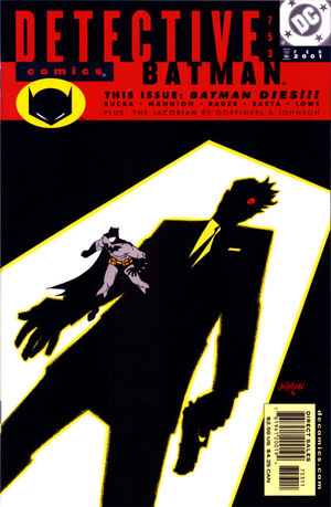 Cover for Detective Comics #753