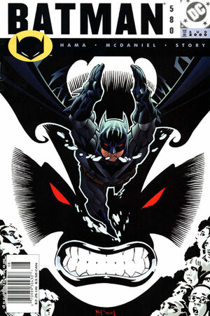Cover for Batman #580