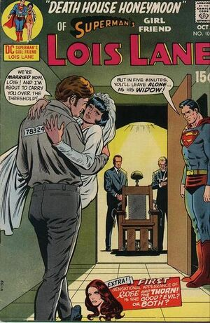 Cover for Superman's Girlfriend, Lois Lane #105